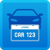 car_plate_icon